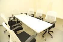 ミニ会議室自習室のレイアウトを変えて最大8名で貸切利用